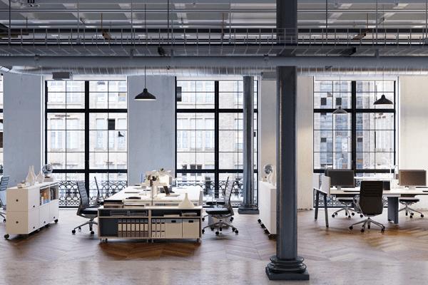 オフィスをスケルトン天井に!どんなメリット・デメリットがある?