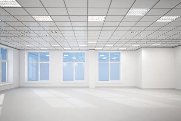 オフィスの天井は1つじゃない!種類ごとのメリット・デメリットとは